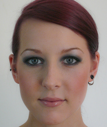 Smokey Eyes - Nachher