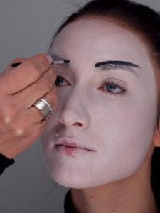 Geisha - Augenbraue