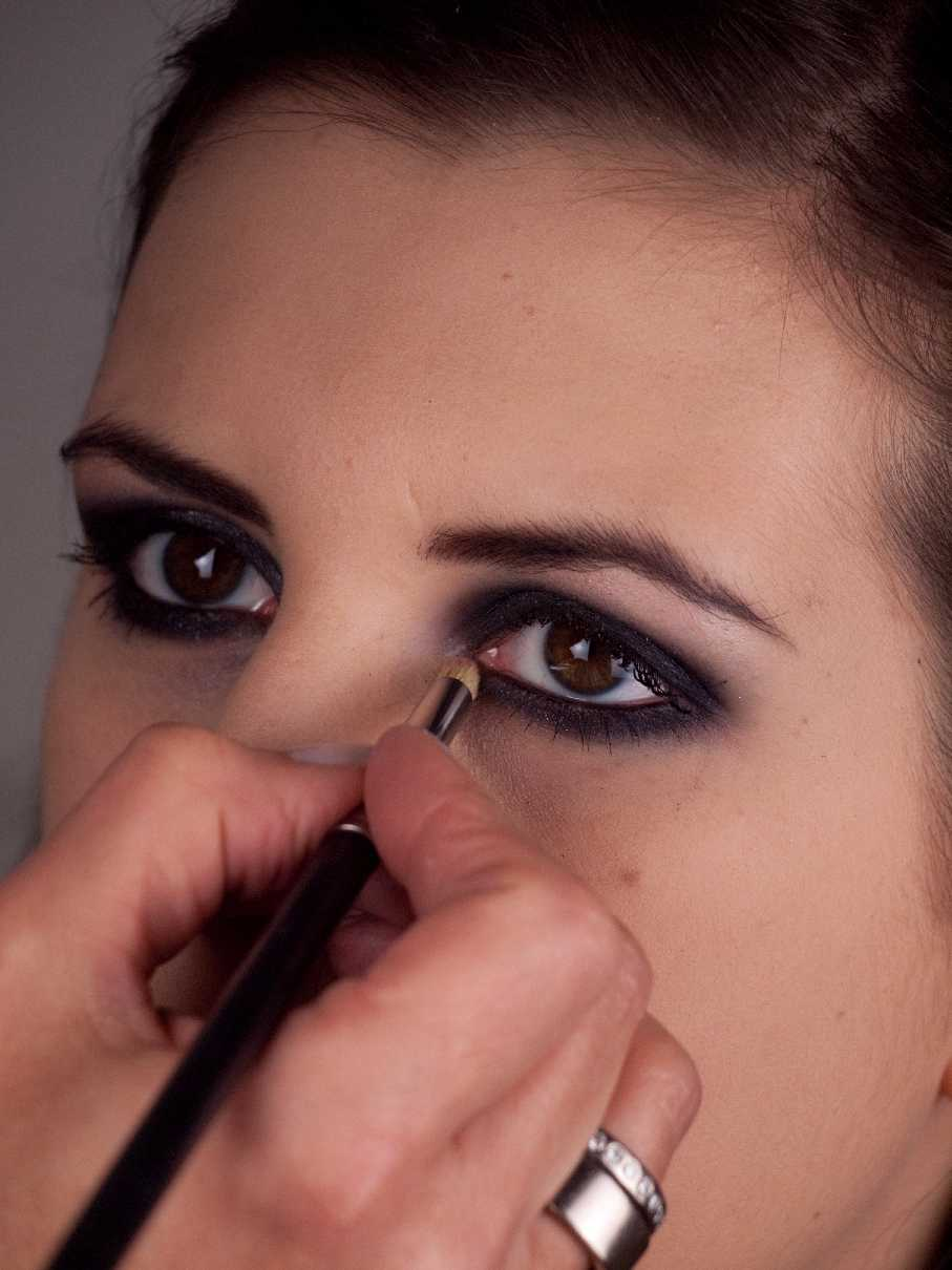 Smokey Eyes Variante - Highlighter 2