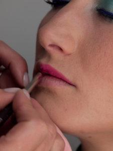 Glitzer Look - Lippen