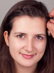 Kleopatra - Haare aus dem Gesicht