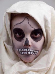 Verkleidung Mumie Gesicht Schminken Kostum Selber Machen