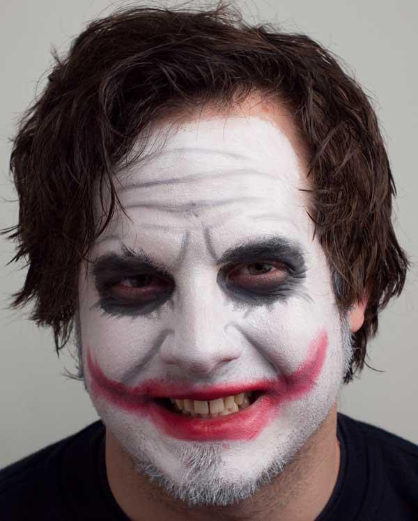 Joker – Schminkanleitung