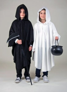 Totenkopf-Umhang-Kinder