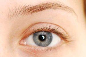 Augen-Make-up 60er Look - Vorher