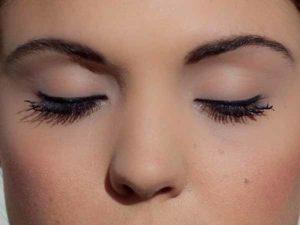 Eyeliner Strich klassisch