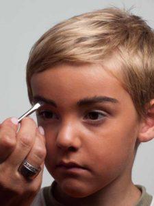 Augenbrauen schminken 2