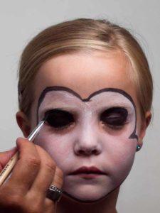 Augen schminken 1