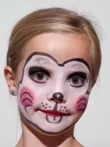 Kinderschminken Zaubermaus