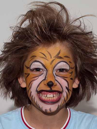Kinderschminken Löwe