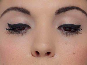 Augen richtig schminken – nur Lidstriche