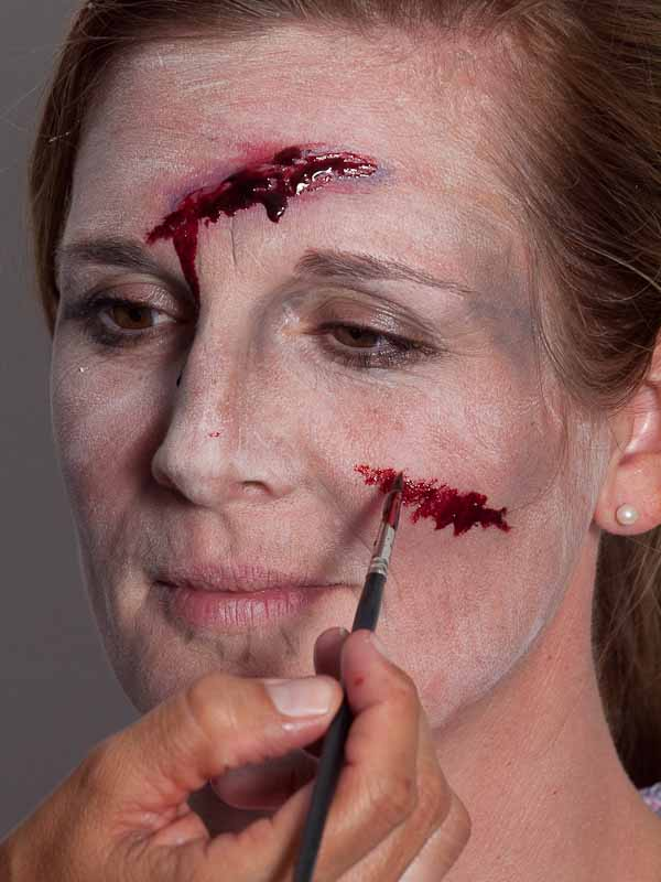Monster für Halloween schminken – Schminkanleitung
