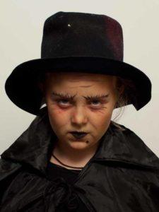 Kinderschminken Hexe - Hut