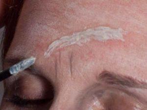 Halloween Narben und Wunden schminken - Spezial Effekt Wunde 1
