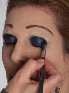 Katzenberger - schminken und Kostüm für Karneval selber machen - Augen Make up 1