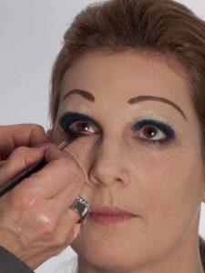Katzenberger - schminken und Kostüm für Karneval selber machen - Augen Make up 2