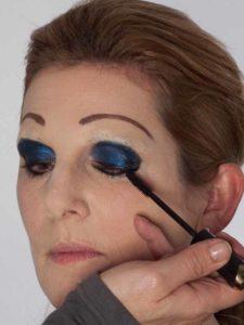 Katzenberger - schminken und Kostüm für Karneval selber machen -Wimpern