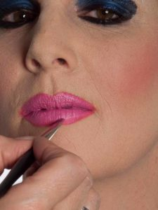 Katzenberger - schminken und Kostüm für Karneval selber machen - Lippen 2