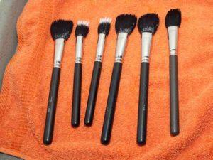 Make up Pinsel reinigen 2