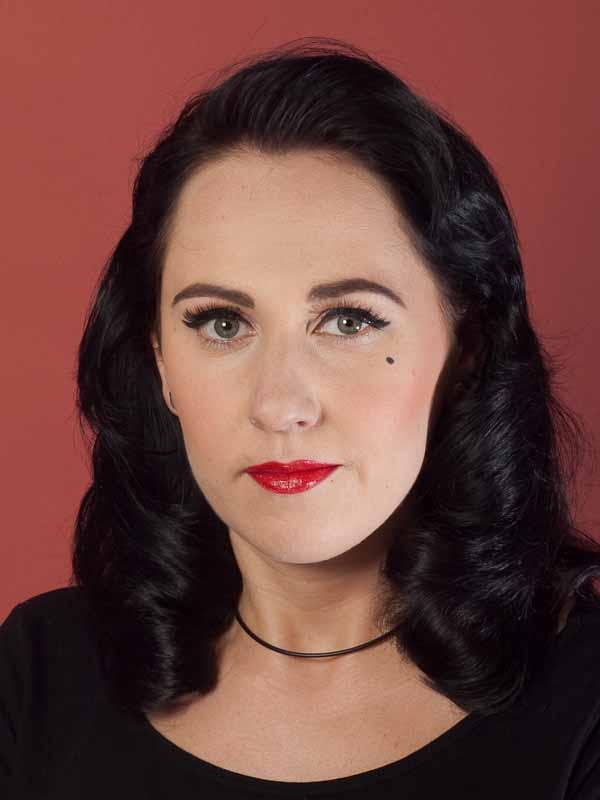 Dita von Teese – Make up Look schminken – Vorher Nachher