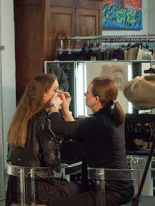 Make up Artist Fotoshooting