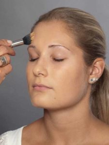 Helene Fischer Make up - Grundierung