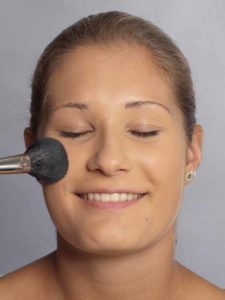 Helene Fischer Make up - Puder