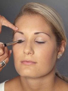 Helene Fischer Make up - Oberes Augenlid 1