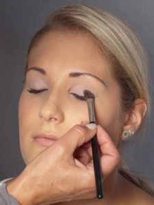 Helene Fischer Make up - Oberes Augenlid 2