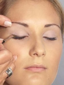 Helene Fischer Make up - Wimpernrand 1