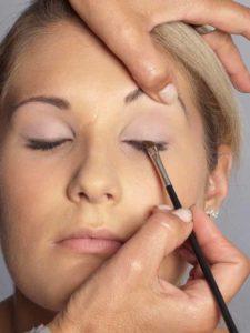 Helene Fischer Make up - Wimpernrand 2