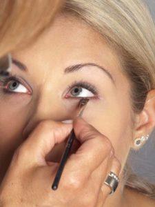 Nude Make up - Unteres Augenlid 2