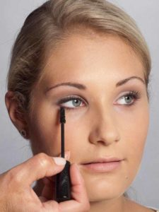 Helene Fischer Make up - Wimpern tuschen 2