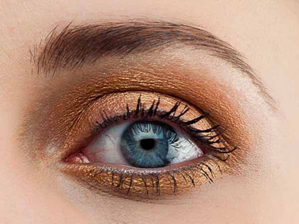 Auge Make up nachher