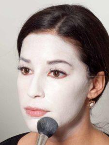 Black Swan Look & Kostüm - Puder 1