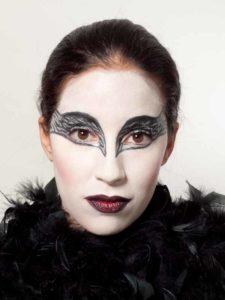 Black Swan Look & Kostüm - Variante nur Federboa 2