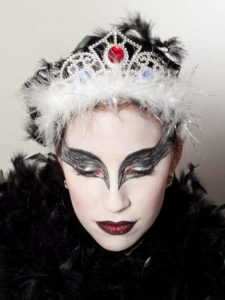 Black Swan Look & Kostüm - Variante mit Krönchen 2