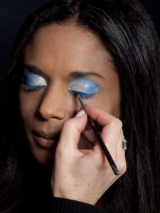 Motsi Mabuse Make up Look - Lidstrich Wimpernrand 1