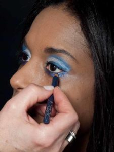 Motsi Mabuse Make up Look - Kajalstrich 2