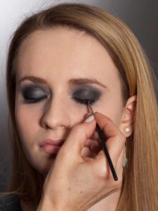 Aktueller Smokey Eyes Look  - Wimpernrand 2