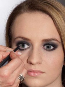 Aktueller Smokey Eyes Look - Kajalstrich
