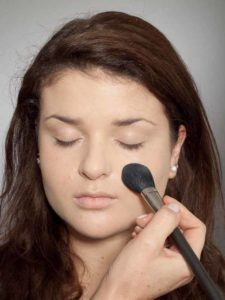 Adele Make up Look - Puder
