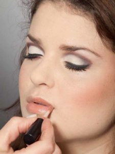 Adele Make up Look - Lippen
