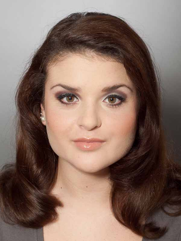 Adele Make up Look – Vorher-Nachher