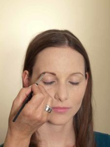 Business Make up Look - Augenbrauen 1