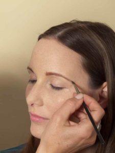 Business Make up Look - Augenbrauen 2