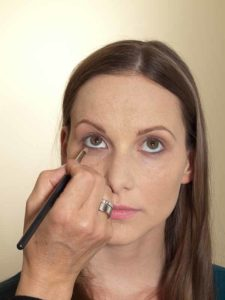 Business Make up Look - Unterer Wimpernrand 1