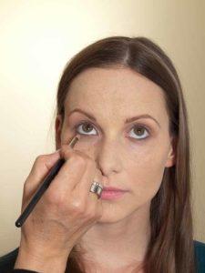 Business Make up Look - Unterer Wimpernrand 1