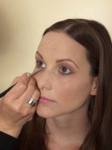 Business Make up Look - Unterer Wimpernrand 2