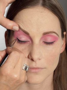 Pink Lady Make up Look – Lidstrich 2